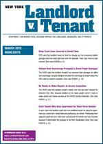 Landlord v. Tenant